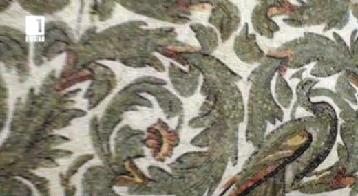 Най-големият музей на мозайки в света