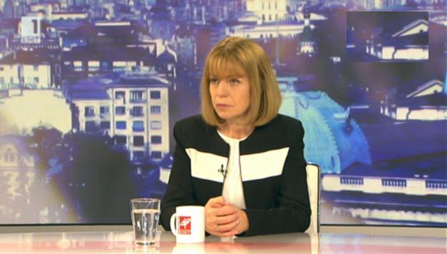 София през 2014 г. -  разговор с кмета на София Йорданка Фандъкова