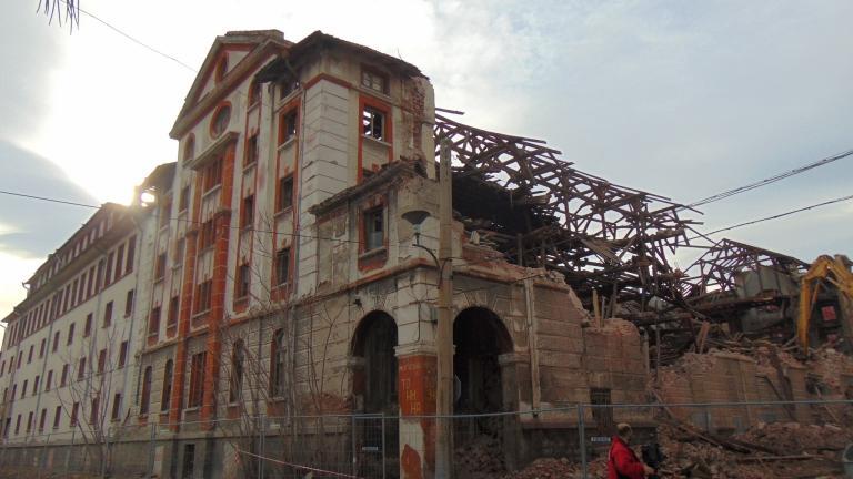 Казусът със сринатия паметник на културата в Пловдив