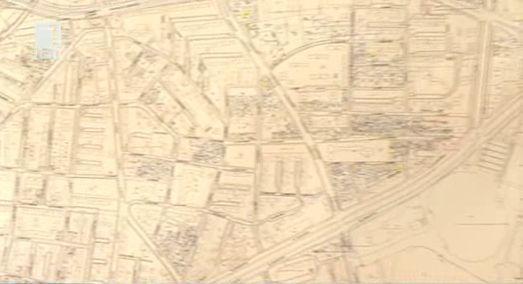 Кадастрална карта на София