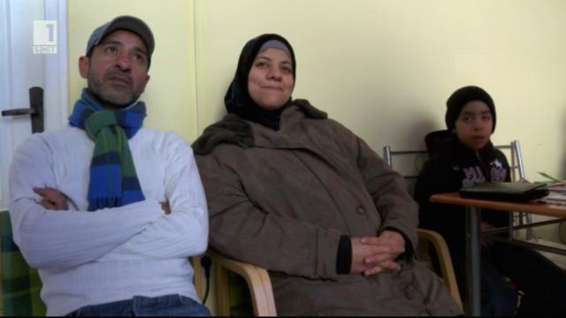 Сирийско семейство остана без дом и средства