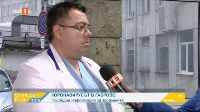 Състоянието на заразените с коронавирус в Габрово и мерките в града