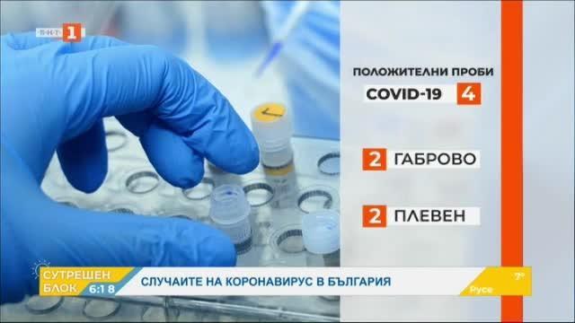 Установиха случаи на заразени с коронавирус в България