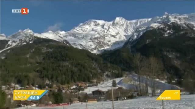 Паника във френски ски курорт заради коронавируса