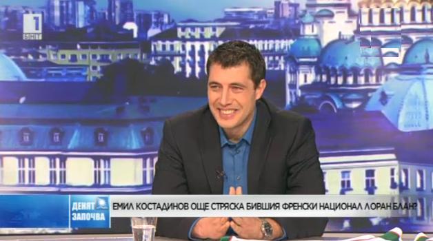 Емил Костадинов още стряска Лоран Блан