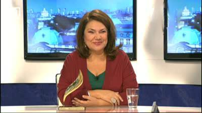 Марта Вачкова с приз Жена на годината