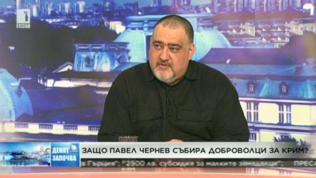 Защо Павел Чернев събира доброволци за Крим?