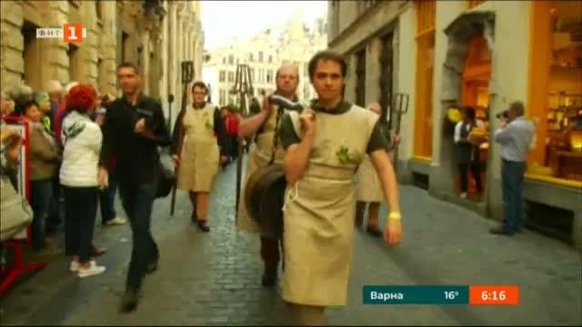 Освещаване на бирата в Белгия