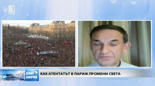 Стефан Тафров: Терористите събудиха френското общество