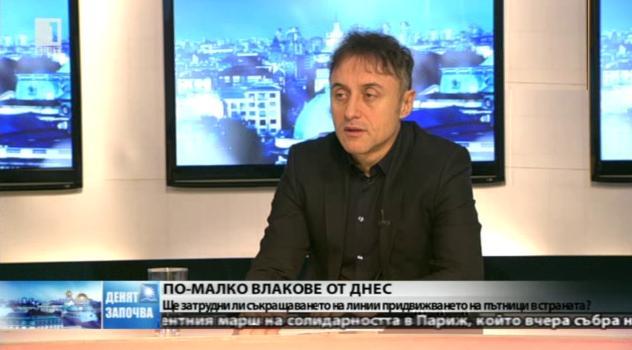 Владимир Владимиров: БДЖ не е приоритет на държавата от 20 години