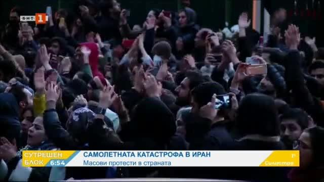Масови протести в Иран