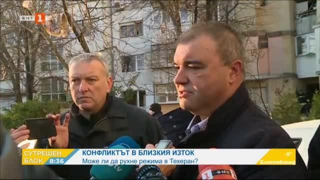 Един загинал и 18 ранени след взрива в жилищен блок във Варна