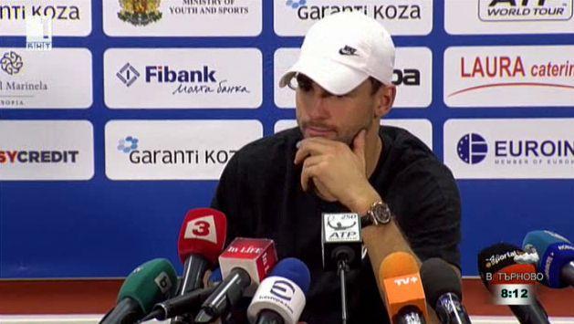 Григор Димитров след триумфа на Sofia Open