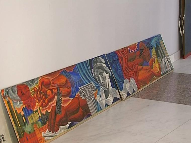 Заличени фрески на Йоан Левиев