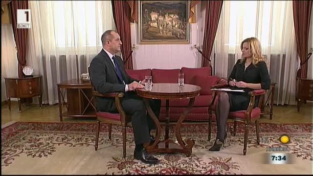 Президентът Радев за проваленото заседание на КСНС
