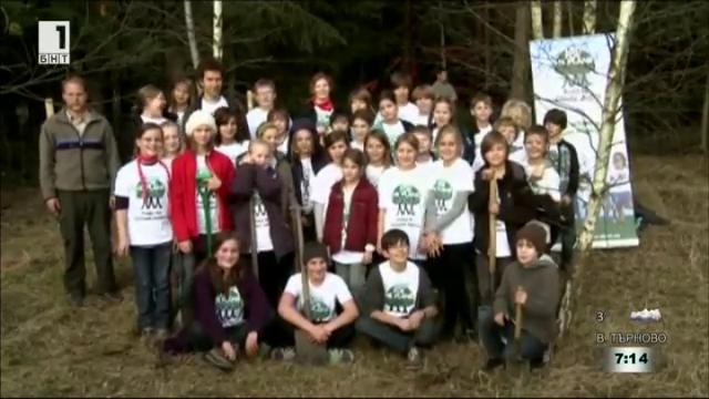 Засаждай за планетата - инициативата на Феликс Фингбайер