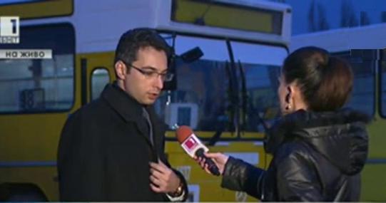 Защо се запали автобус на Цариградско шосе