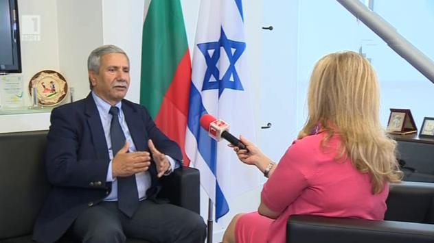 Посланикът на Израел пред БНТ