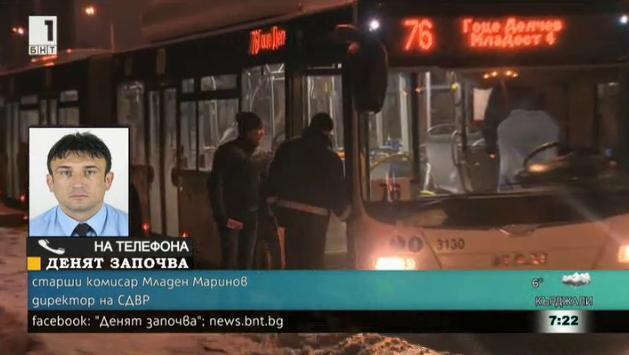Директорът на СДВР за стрелбата в автобус 76