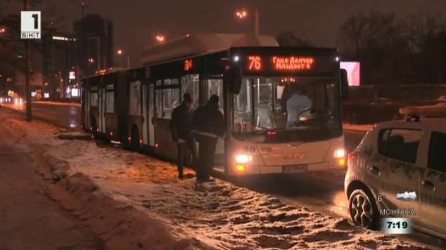 Стрелба в препълнен автобус
