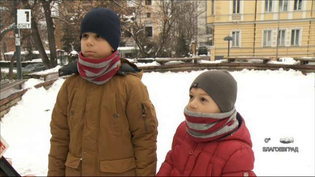 Калоян и Божидар - създателите на Снежко