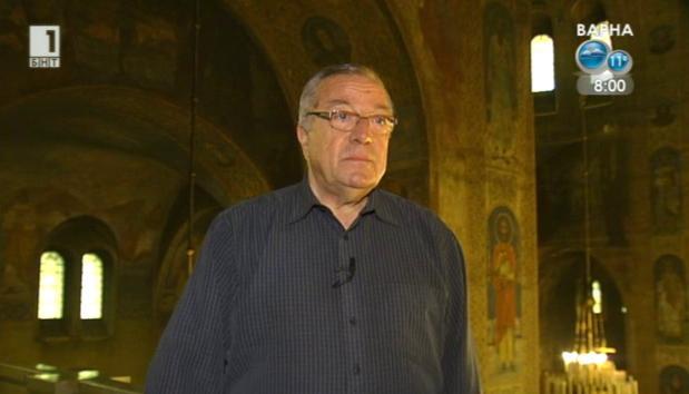 """Диригентът на хора при катедралния храм """"Св. Александър Невски"""""""