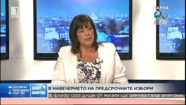 За алтернативите в лявото - Росица Янакиева от АБВ