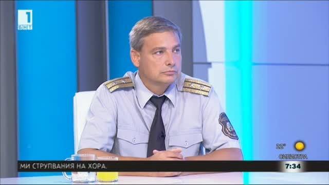Гл. инспектор Стефанов: Пожарите от началото на август са 3400