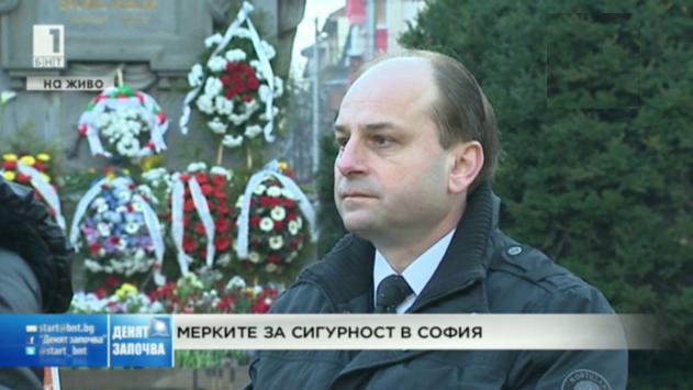 Мерките за сигурност в София