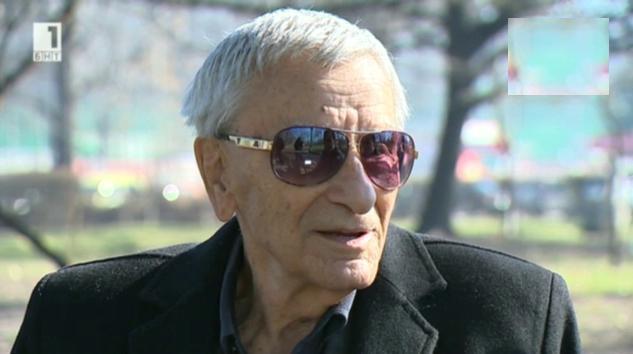 Петко Бочаров на 95 години