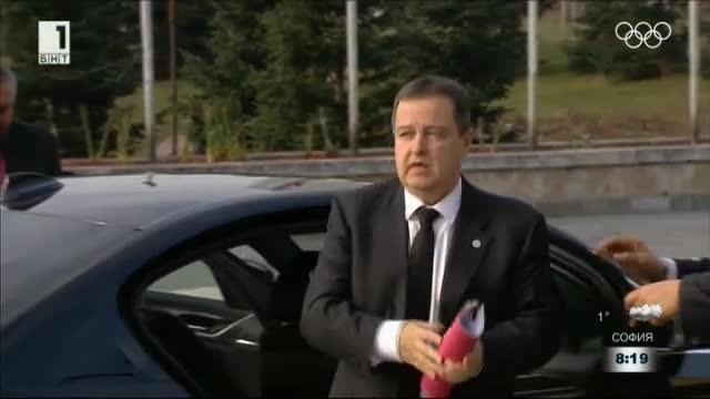 Ивица Дачич за БНТ: В стратегията на ЕК за Западните Балкани има нелогични неща