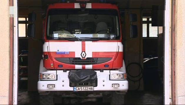 Капацитетът на пожарната служба у нас