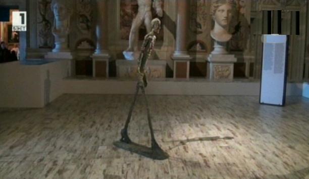Джакомети в галерия Боргезе