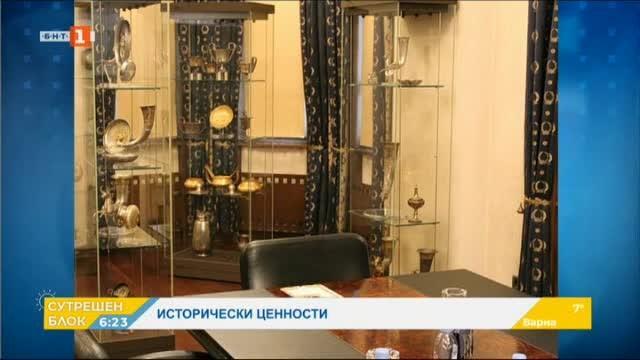 Откриха ценни артефакти и документ за криминалното му минало в офиса на Божков