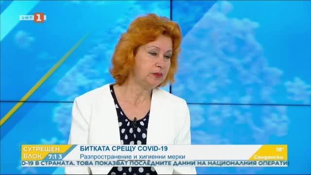 Разпространение на вируса и хигиенни мерки - проф. Ива Христова