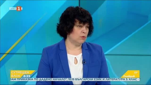 Зам.мин. Михайлова за изпитите: Децата на 1,5 м отстояние, 2-ма квестори в стая