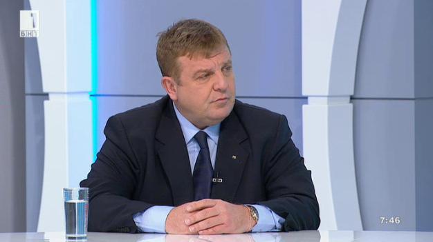 Към Дондуков 2: Кандидатът за президент Красимир Каракачанов