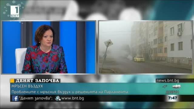 Ивелина Василева: Всеки има право да живее в здравословна среда