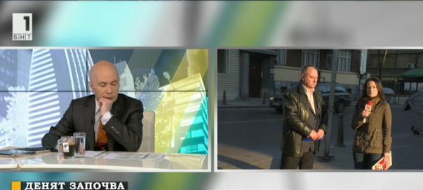 Коя е причината за падналия електрически стълб в центъра на София