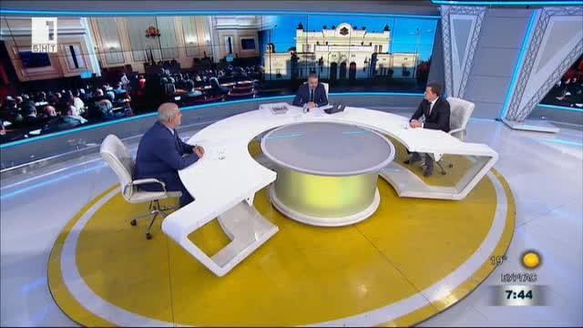 Вотът на недоверие. Спорят Маноил Манев - ГЕРБ и Станислав Владимиров - БСП