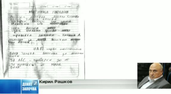 Кирил Рашков: Тефтерът е атака срещу мен