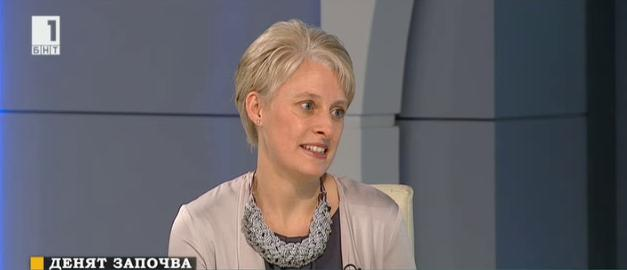 С Брекзит Великобритания гради бариера за трафика на хора и трудовата експлоатация. Н. пр. посланик Ема Хопкинс