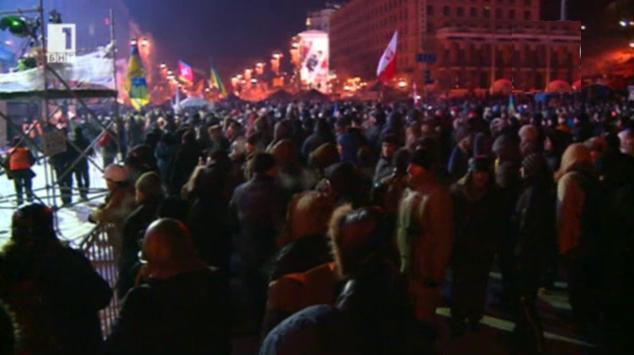 Сблъсъците в Украйна