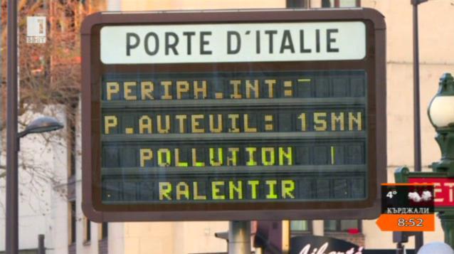 За фините прахови частици в Париж и мобилизацията против замърсяването