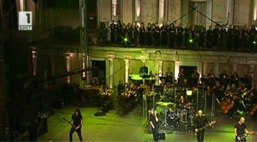 Музиката на Парадайс Лост и Пловдивската филхармония прозвуча в Античния театър
