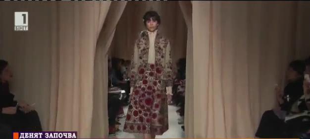 Българските шевици в световната мода