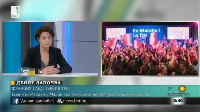 Франция след първия тур на президентските избори