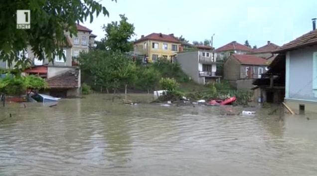 Спасяването на животни след потопа