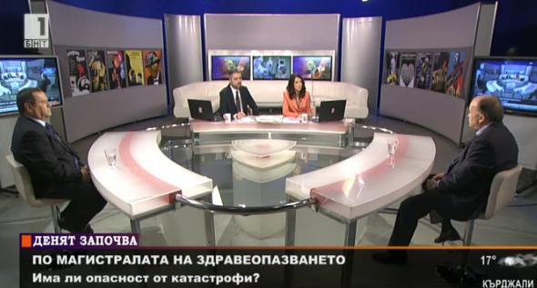 По магистралата на здравеопазването - Бойко Пенков и Хасан Адемов