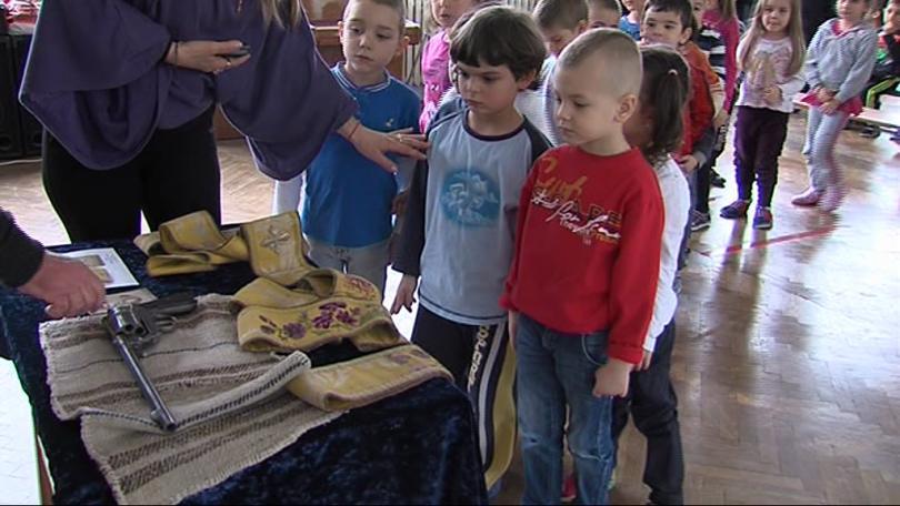 Музей в куфар в детските градини и училищата